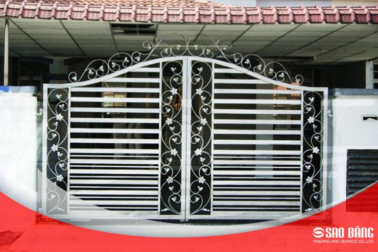 Mẫu Cửa Cổng Sắt Hộp Bền Đẹp Được Ưa Chuộng Nhất Hiện Nay