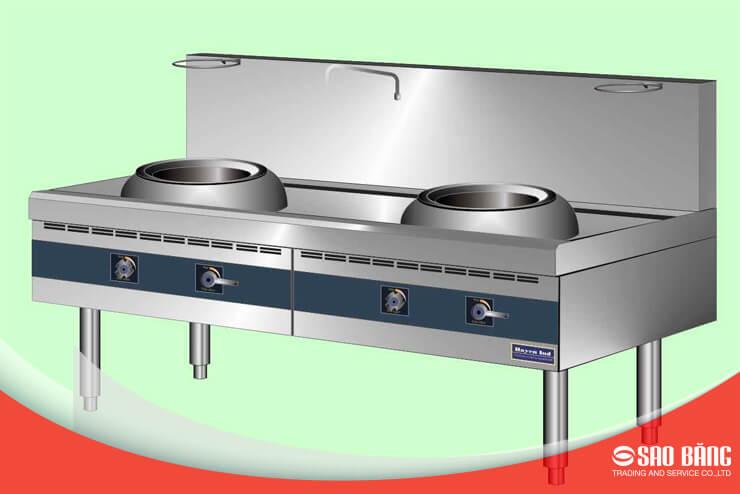 Bếp Á 2 Họng Inox 304