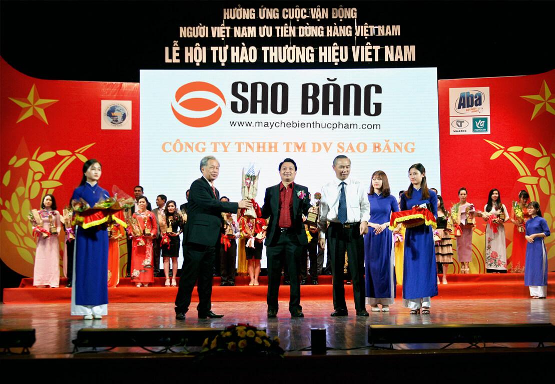 Lễ Trao Giải Tự Hào Thương Hiệu Việt Nam