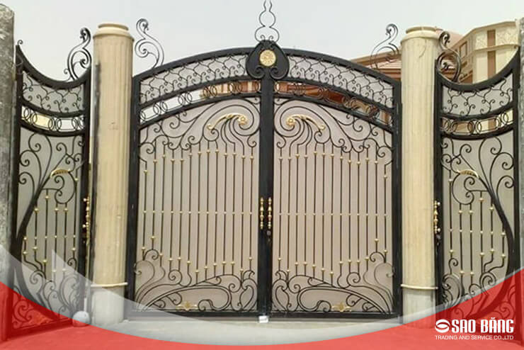 Cổng Cửa Sắt Nghệ Thuật
