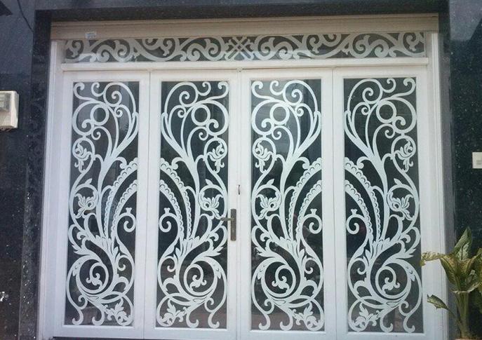 Tham Khảo Các Mẫu Cổng Cửa Sắt CNC 4 Cánh Đẹp – Độc – Lạ
