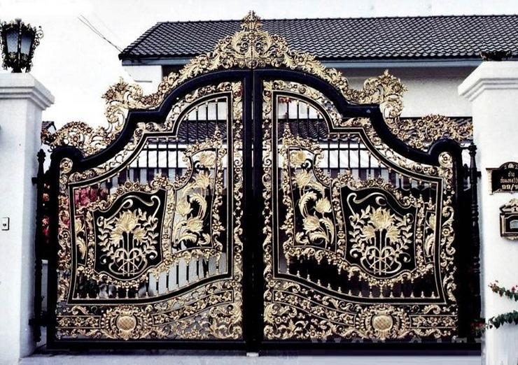 Tại Sao Nên Lựa Chọn Cổng Sắt Nghệ Thuật Cho Biệt Thự Đẹp?