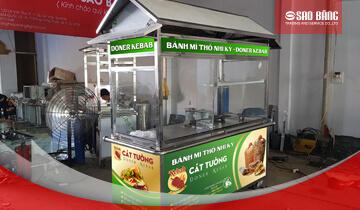 Giá Xe Bán Bánh Mì Thổ Nhĩ Kỳ Doner Kebab Sao Băng 2020