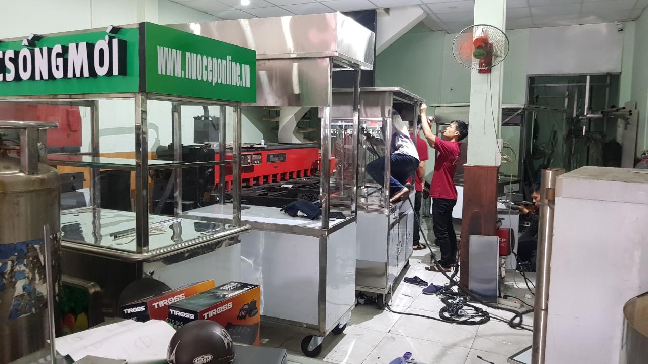 Giá Xe Đẩy Bán Bánh Mì Đẹp Sản Xuất Tại Sao Băng Năm 2019