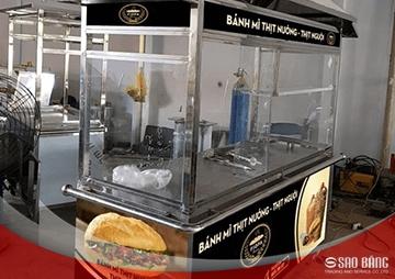 Xe Bánh Mì Thổ Nhĩ Kỳ Kiểu Mái Chùa