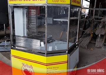 Xe Bánh Mì Thổ Nhĩ Kỳ 1m2 Kiểu Lục Giác