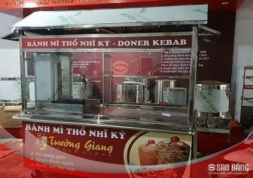 Xe Bánh Mì Thổ Nhĩ Kỳ 2m Kiểu Mái Nhà
