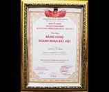 Bảng Vàng Doanh Nhân Đất Việt Lần Thứ IV - Năm 2017