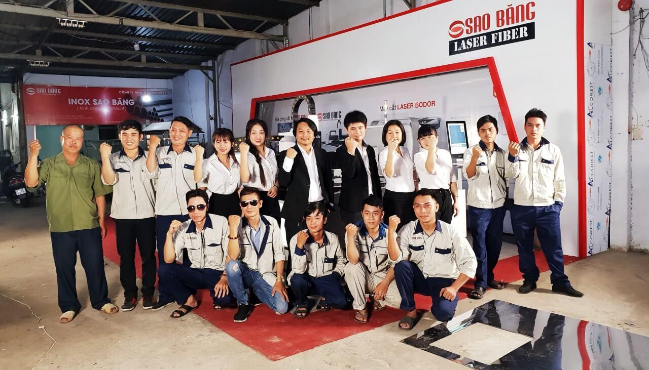 Đội ngũ kĩ sư dày dặn kinh nghiệm với trình độ chuyên môn và tính trách nhiệm cao